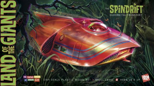Land Of The Giants Spindrift Model Kit Ex Aurora